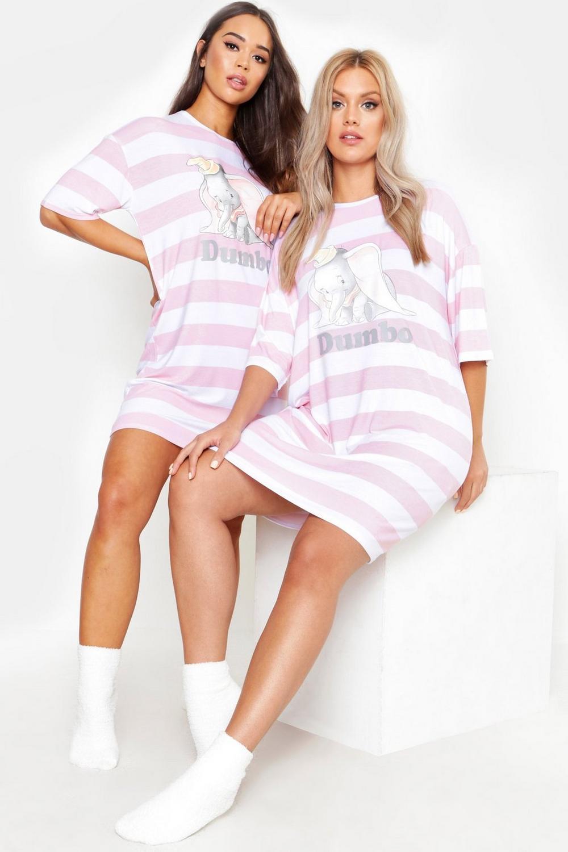 en ligne à la vente meilleur prix bonne vente T-shirt de pyjama Dumbo Disney officiel | Boohoo