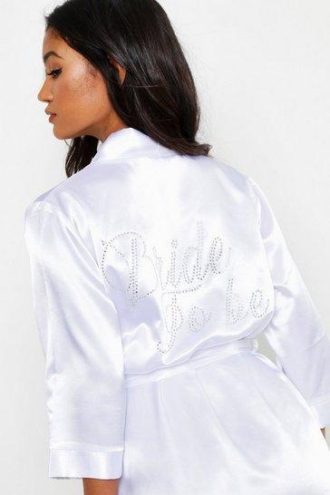 3381ae4f90d7 Bride Pyjamas   Bride To Be & Team Bride PJs   boohoo UK