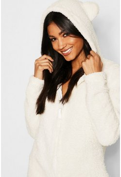 Dam Cream Snuggle Bear Onesie