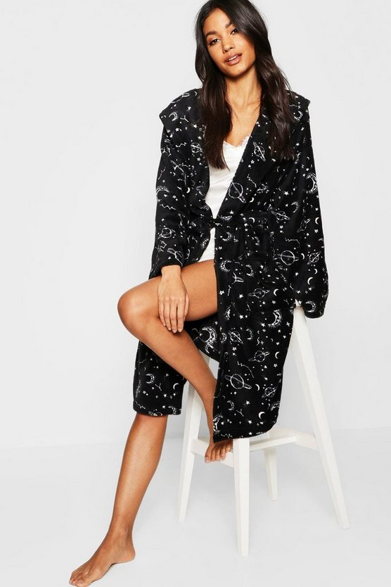 Stargazer Printed Dressing Gown