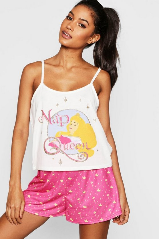 Disney Nap Sleeping Beauty Short Set