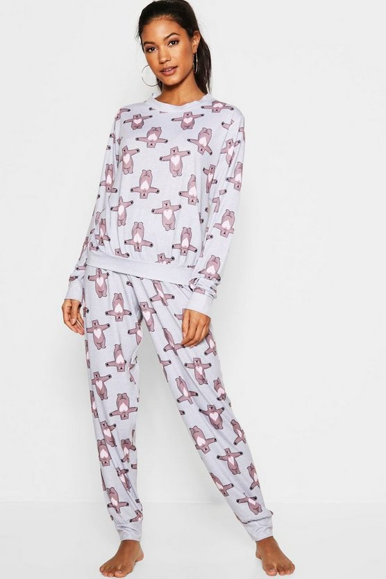 Hugging Bear Lounge PJ Set