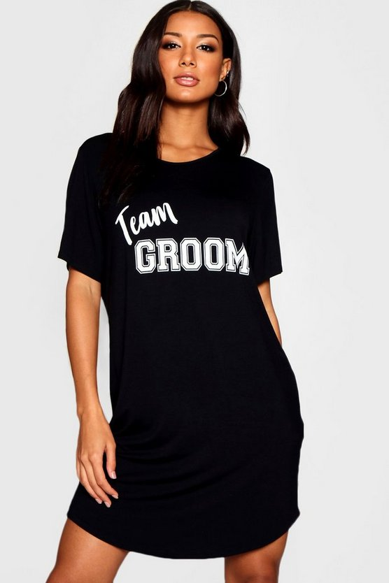 Team Groom Sleep Tee