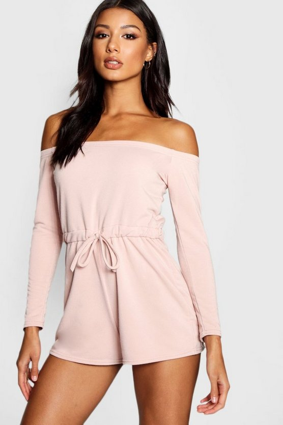 Loopback Bardot Lounge Playsuit