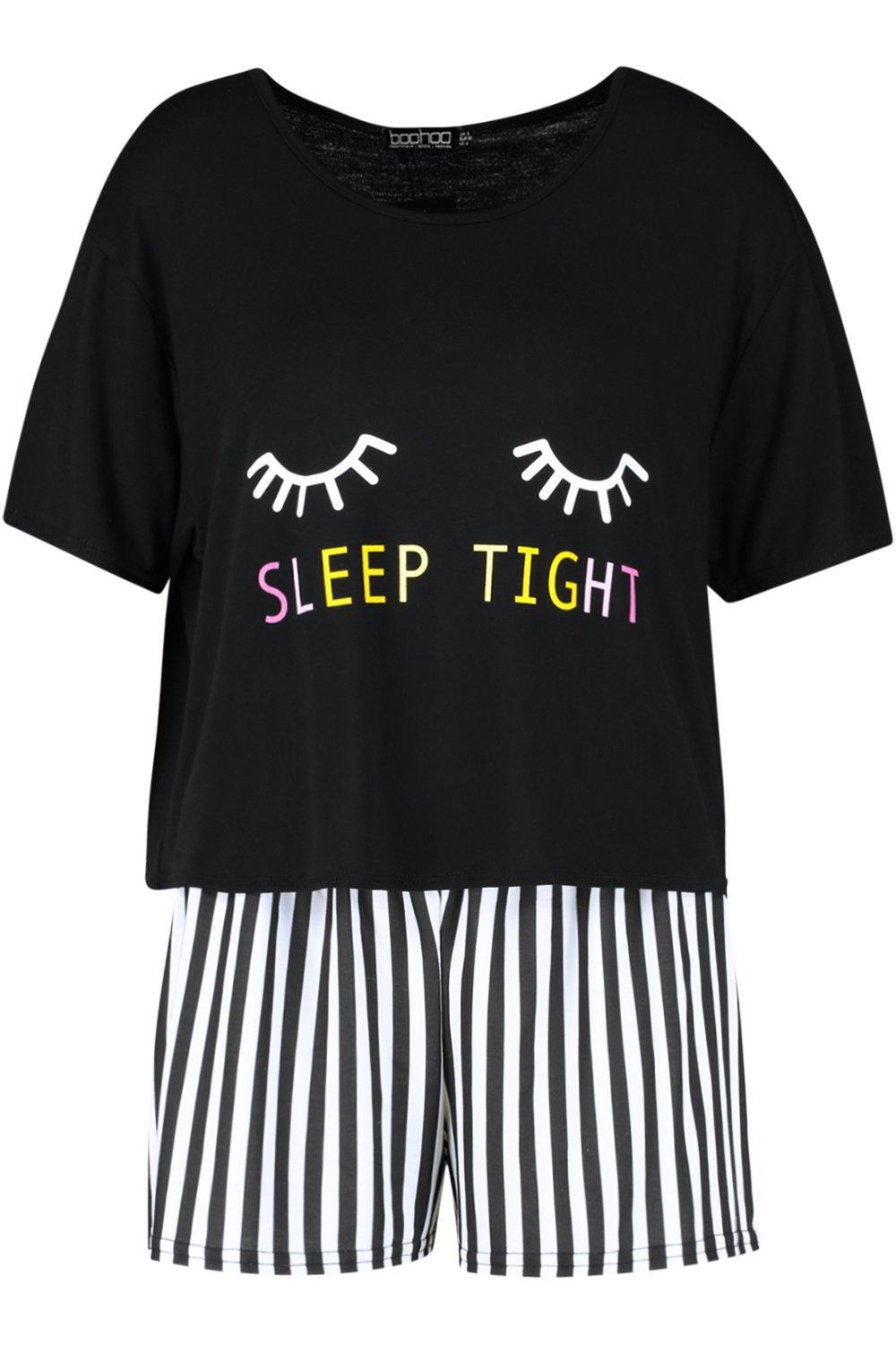 "pijama ""Sleep Conjunto corto Tight de zxaY1"