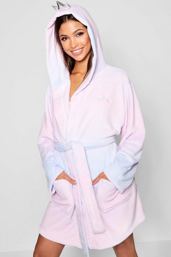 Nap Queen Crown Dressing Gown