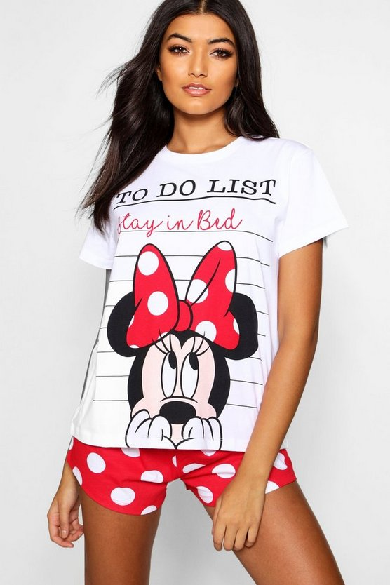 Disney Minnie Mouse Spotty Short Set