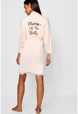 Womens Blush Mother Of The Bride Robe