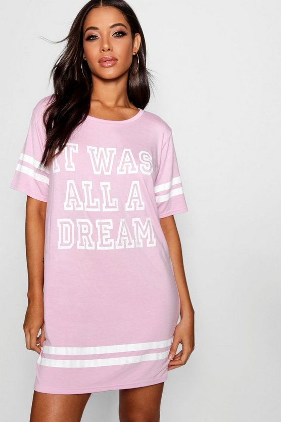 It Was All A Dream Sleep Tee
