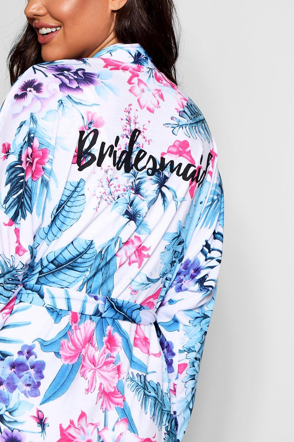 """Bridesmaid floral estampado con tropical Bata qwxPaY0XUn"