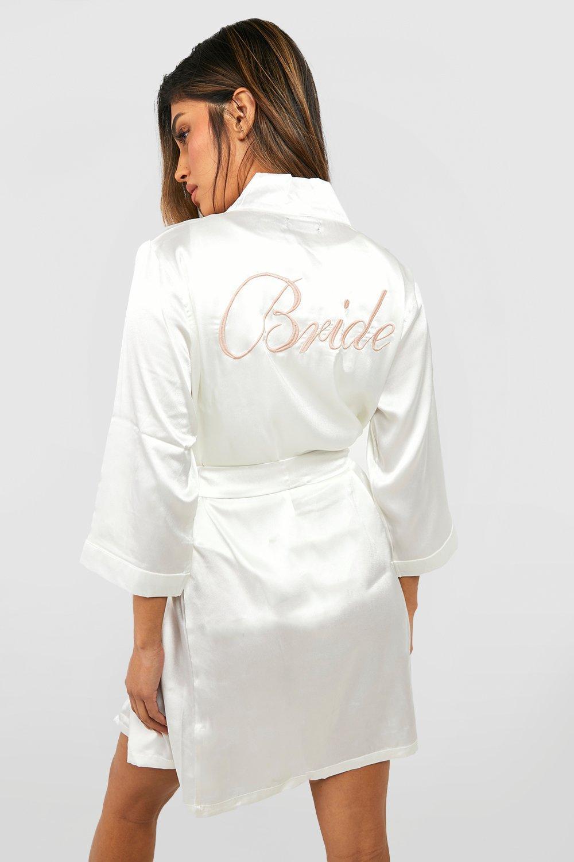 Satin Robe Satin Bride Satin Robe ivory Robe ivory Satin ivory Bride Bride Bride ivory Robe w4aZqHw