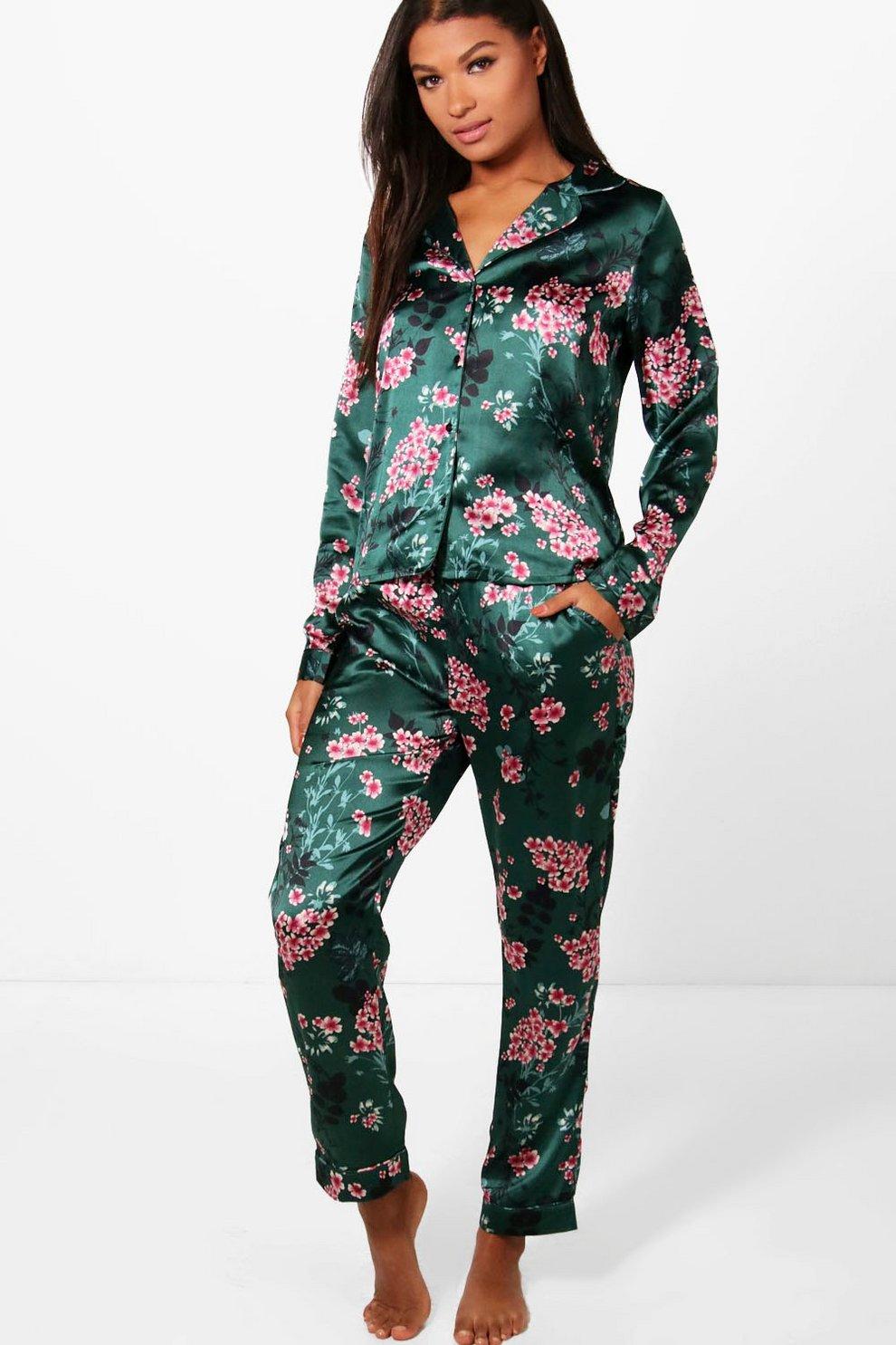 2425a1480fc Diana Oriental Print Shirt   Trouser Set