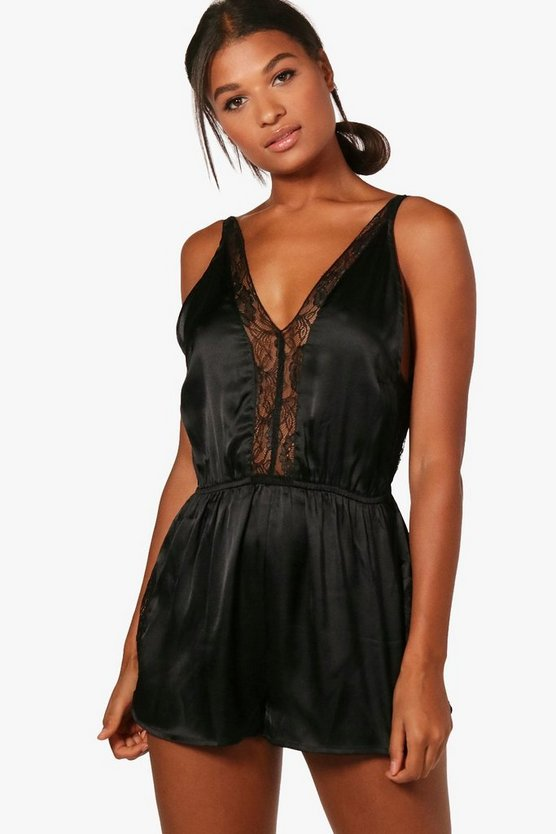 Alicia Lace Front Playsuit