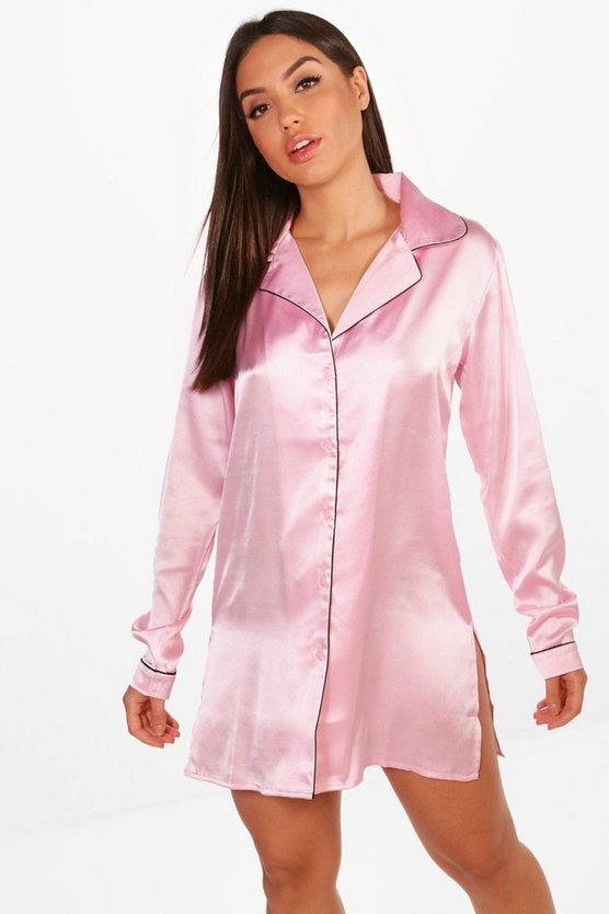 Maisy Button Through Nightshirt