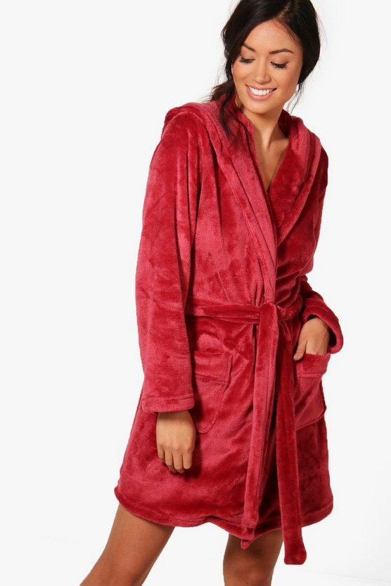 Lois Hooded Robe