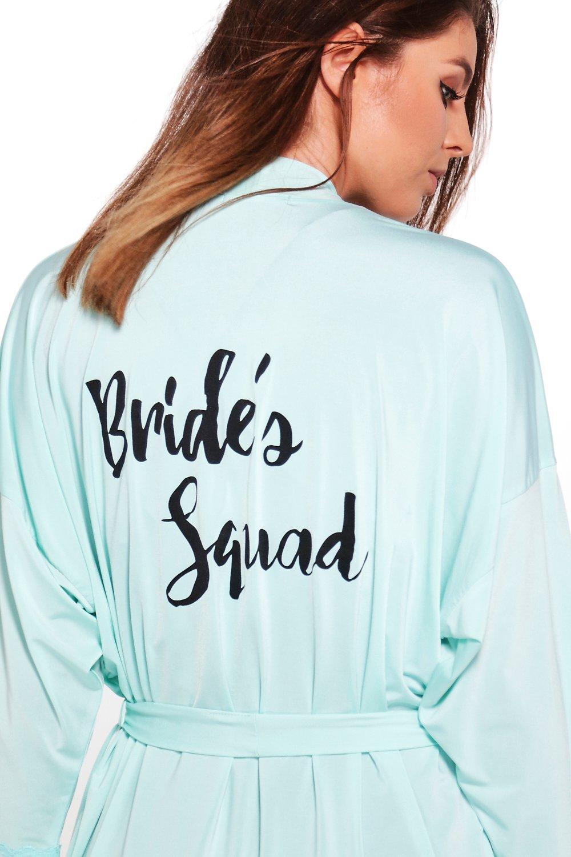Squad Brides Squad Brides Robe coral 0SnEx
