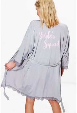 Grey Brides Squad Robe
