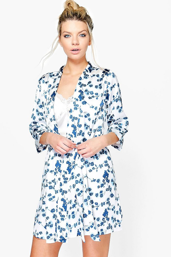 Natalie Floral Hoodie Plus Size | Clothes | Plus size