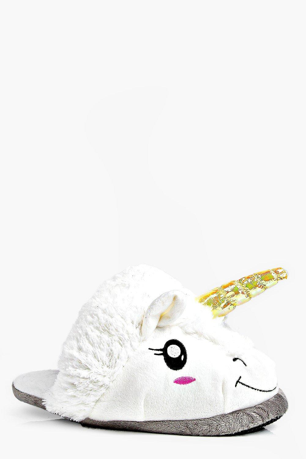 31a81f1bd2 Phoebe Unicorn 3D Slippers