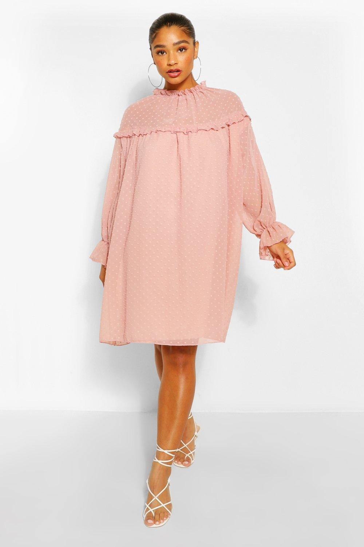 Vintage Nightgowns, Pajamas, Baby Dolls, Robes Womens Polka Dot Button Through Pajama Pants Set - Pink - 12 $22.50 AT vintagedancer.com