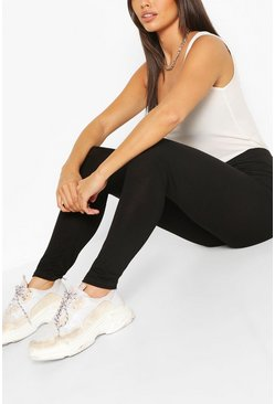Black Petite 2 Pack Basic Leggings