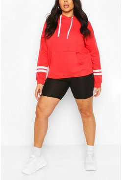 Plus Basic Red Hoody