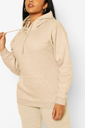 Sand Plus Basic Hoody & Jogger Lounge Set