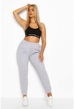 Grey Plus Internal Drawstring Jogger