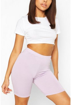 Lilac Petite Cycle Shorts