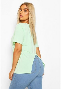 Mint Plus Recycled Open Back T-Shirt