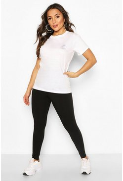Black Petite Recycled Basic Legging