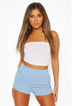 Sky Petite Tailored Shorts