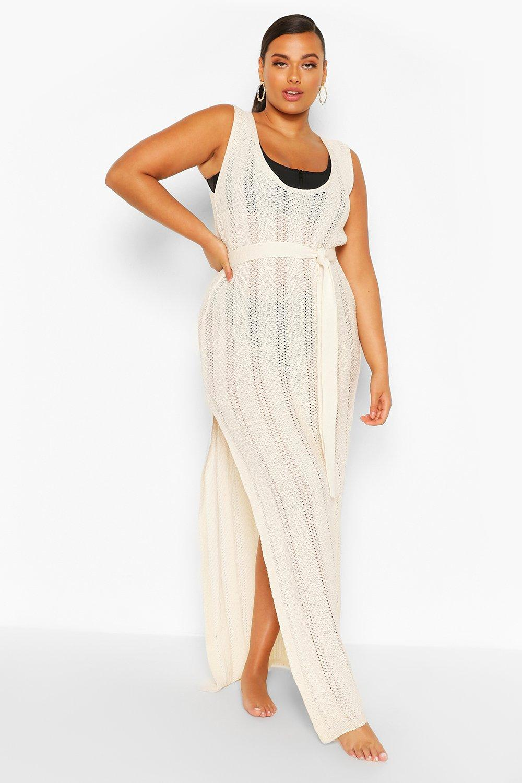 Plus Crochet Beach Dress 6