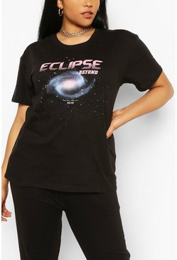 Camiseta Eclipse Plus, Negro