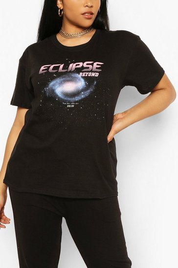 Black Plus Eclipse T-shirt