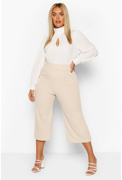 Stone Plus High Waist Culottes