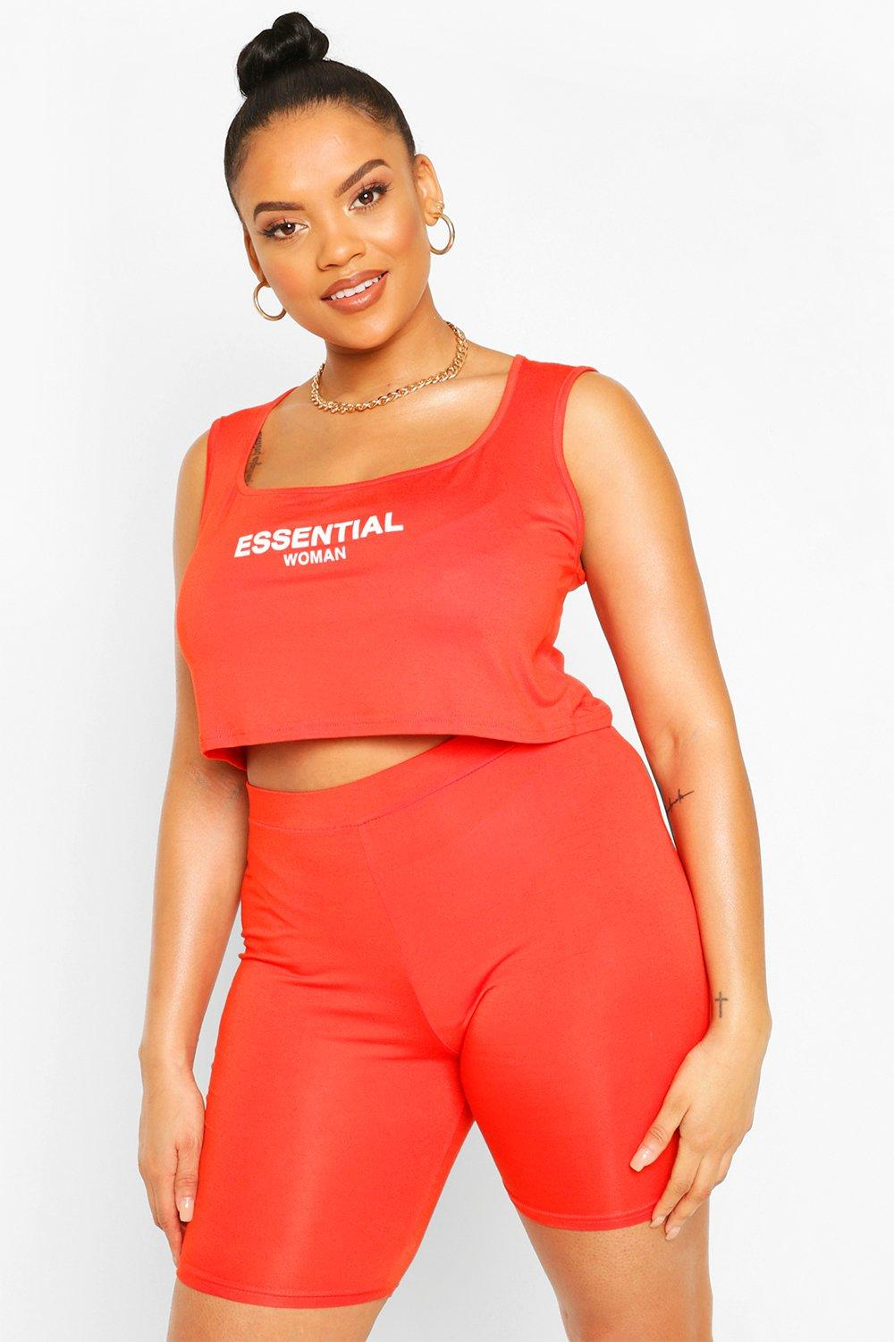 Plus Essential Cycle Short Co-ord 8
