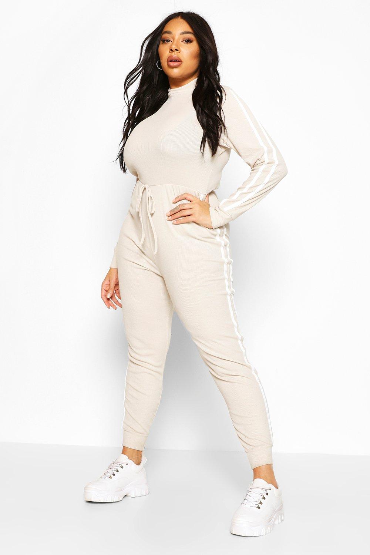 Plus Side Stripe Jumpsuit 6