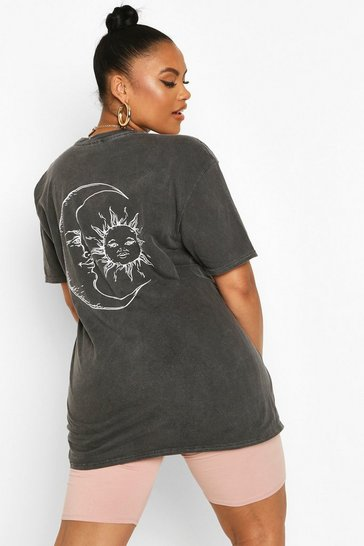Black Plus Sun & Moon T-Shirt