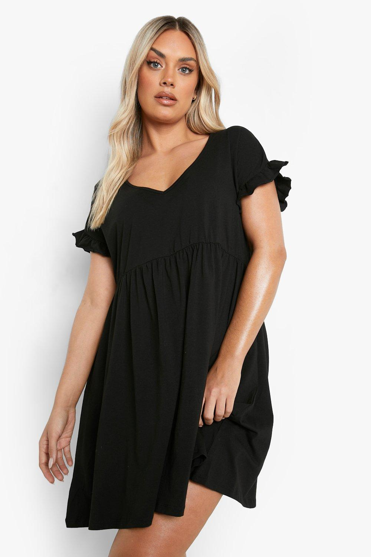 Casually Busy Wrap Midi Dress - Black 7
