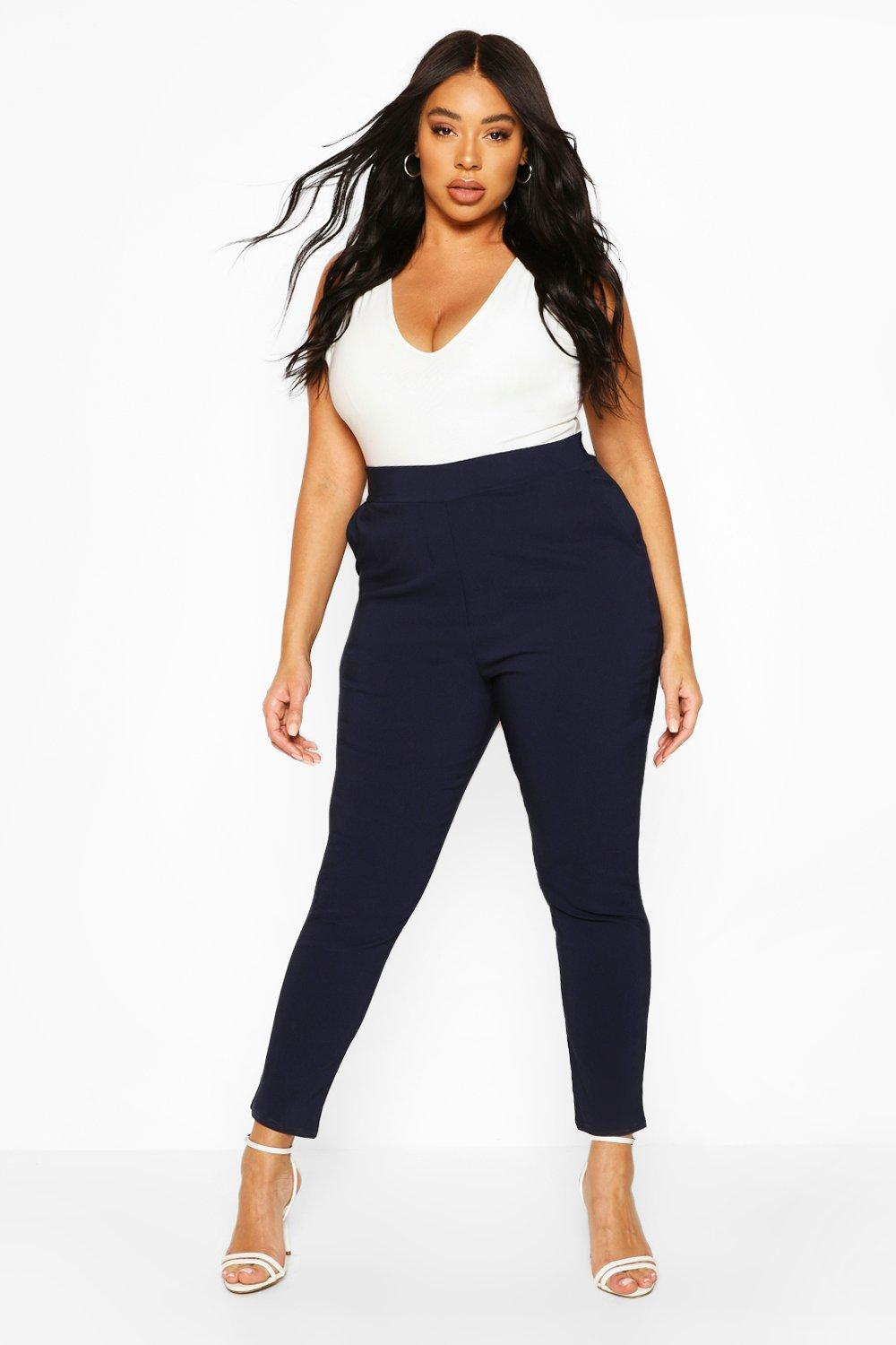 Plus Super Stretch Fitted Trouser 6