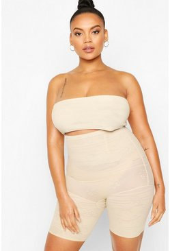 Nude Plus High Waist Control Shorts