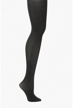 Plus Soft Touch 60 Denier Shaper Tights , Black