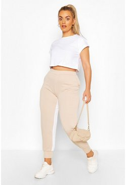 Stone Plus Inside Side Stripe Jogger