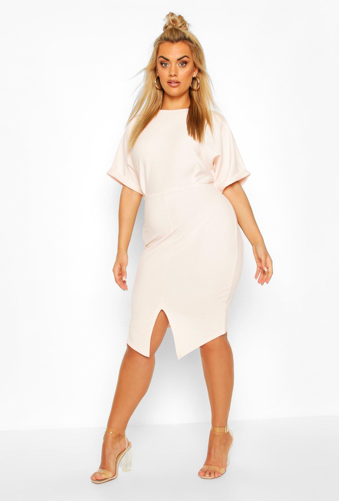 Plus Wiggle Midi Dress 7