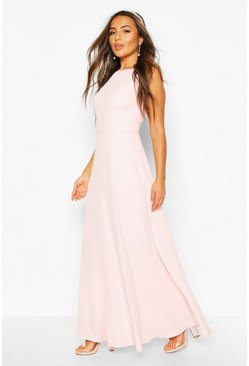 Soft pink Petite Occasion Maxi Dress