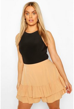 Sand Plus Ruffle Shorts