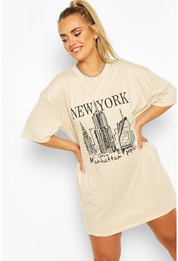 Stone Plus New York T-Shirt Dress