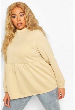 Stone Plus Super Soft Loopback Smock Top
