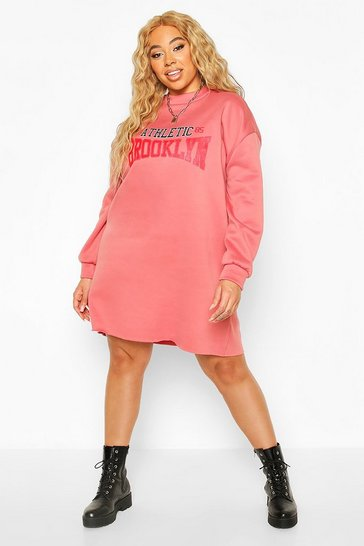 Rose Plus Brooklyn Oversized Sweat Dress